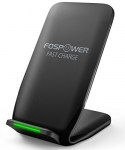 Qi Fast Wireless Charger, FosPower [10W Fast Charge] Wireless Charging Pad Stand