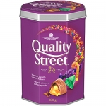 QUALITY STREET Imported Caramels; Crémes & Pralines; 360g Tin