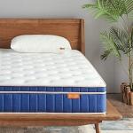 Sweetnight Queen Size Gel Memory Foam Hybrid Mattress, 8 Inch