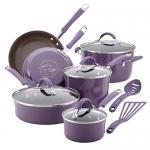 Rachael Ray 12-Piece Cucina Hard Enamel Nonstick Cookware Set