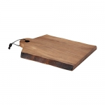 Rachael Ray Cucina Pantryware 14-Inch X 11-Inch Wood Cutting Board with Handle