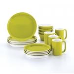 Rachael Ray Round and Square 16-Piece Dinnerware Set
