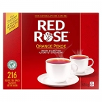 Red Rose Orange Pekoe Tea, 216 count