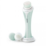 Remington Reveal Electric Facial Cleansing Brush, Dual Power Motion Cleans Deep and Gently Exfoliates, FC1000B
