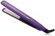 Remington Digital Anti Static Ceramic Hair Straightener, 1-Inch, Purple