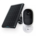 REOLINK Outdoor Security Camera Wireless with Rechargeable Battery Solar Panel