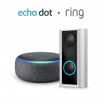 Ring Doorview Camera with Echo Dot (Charcoal)