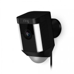 Ring Spotlight Cam Wired: Plugged-in HD security camera with built-in spotlights, two-way talk and a siren alarm