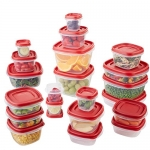 Rubbermaid Easy Find Lid Food Storage Container, BPA-Free Plastic, 42-Piece set