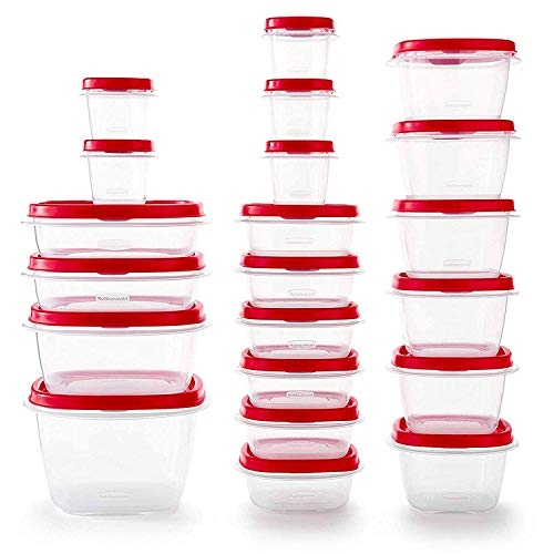 Rubbermaid Vented Plastic Food Storage Containers