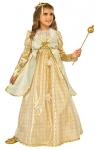 Rubies Costume Kids Golden Princess Costume, Medium
