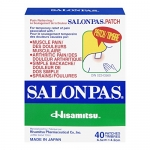 Salonpas Pain Relieving Patch, 40 Patches