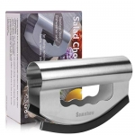 Samshow Stainless Steel Double Bladed Salad Cutter