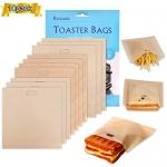 Samshow Non-Stick Heat Resistant Reusable Toaster Bags