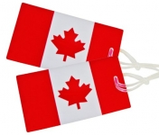 Samsonite Luggage 2-Pack Canadian Flag Luggage Tag, Red/white