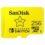 SanDisk 256GB MicroSDXC UHS-I Memory Card for Nintendo Switch
