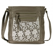 Scarleton Fashion Denim Crossbody Bag