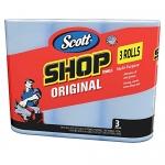 Scott Shop Towels, Blue (3 Rolls)