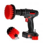 Scrub Brush Drill Attachment Kits – Brush Heads for Cordless / Corded Power Drills