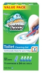 Scrubbing Bubbles Toilet Cleaning Gels Rainshower Value Pack