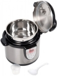 Secura 6-in-1 Electric Stainless Steel Pressure Cooker 6qt