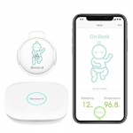 Sense-U Baby Monitor 2 with Breathing Rollover Movement Temperature Sensors (w/2.4GHz Base Station)
