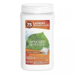 Seventh Generation Fresh Citrus + Sandalwood Laundry Detergent Packs, 75 Count