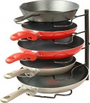 Kitchen Cabinet Pan and Lid Organizer