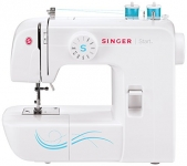 Singer Start Basic Everyday Free Arm Sewing Machine with ZigZag, Blind Hem Stitches and More