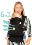 SIX-Position, 360° Ergonomic Baby & Child Carrier by LILLEbaby – The COMPLETE Airflow