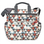 Skip Hop Duo Signature Diaper Bag, Triangles
