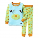 SkipHop Zoo Little Kid and Toddler Pajama Set, Darby Dog, 2T