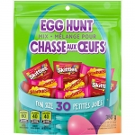 Skittles and Starburst Easter Egg Hunt Spring Candy Variety Mix, 30 Pieces