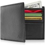 Access Denied RFID Slim Leather Bifold Wallets For Men