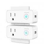 Teckin Smart Plug Mini WiFi Outlet with USB Port