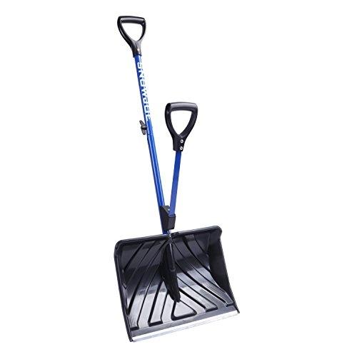 Snow Joe Shovelution Strain-Reducing Snow Shovel | 18-Inch