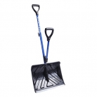 Snow Joe Shovelution Strain-Reducing Snow Shovel   18-Inch