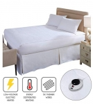 Soft Heat Micro-Plush Electric Heated Twin Mattress Pad