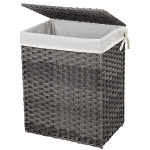 SONGMICS Handwoven Laundry Basket, 90L