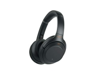 Sony Noise Cancelling Headphones Wireless Bluetooth Over the Ear Headphones with Mic and Alexa – Black