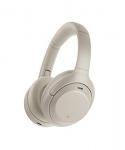Sony Wireless Industry Leading Noise Canceling Overhead Headphones, Silver