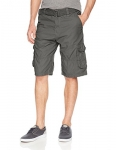 Southpole Men's Belted Ripstop Basic Cargo Short