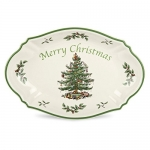 Spode Christmas Tree Merry Christmas Tree Tray