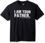 Disney Star Wars I Am Your Father Darth Vader Empire Strikes Back Tshirt