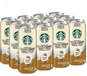 Starbucks Double Shot Vanilla 444ml Can (Pack of 12)