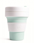 Stojo Pocket Travel Cup, Mint