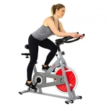 Sunny Health & Fitness Chain Drive Indoor Cycle Bike with 30 lbs (13.6 kg) Flywheel