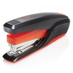 Swingline Quick Touch Full Strip Stapler, 20 Sheet Stapling Capacity, Black/Red