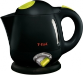 T-fal Balanced Living 4-Cup 1750-Watt Electric Kettle with Variable Temperature and Auto Shut Off, 1-Liter, Black
