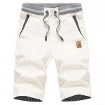 Tansozer Men's Casual Classic Fit Drawstring Summer Beach Shorts